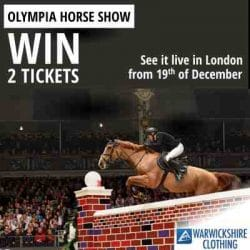 See Olympia horse show live from 19th of Decamber