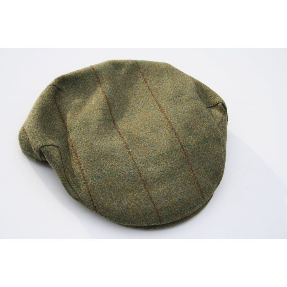 Country Classics Teflon Coated Tweed Flat Cap - Mens Clothing from ... 67f9ad79484