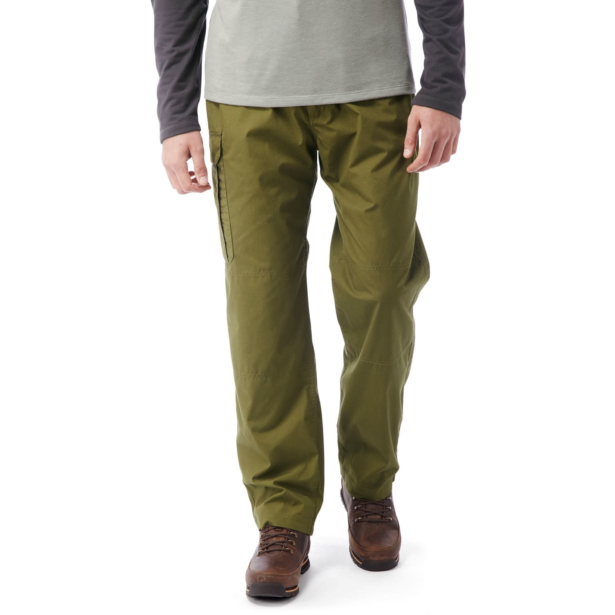 Craghoppers Mens Classic Kiwi Trousers Bark 36R