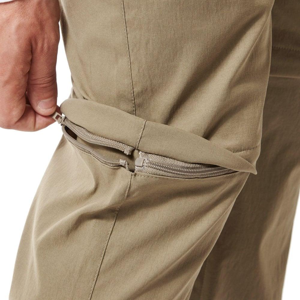 c2c2e1c7e8a165 Craghoppers Kiwi Pro II Mens Convertible Trousers Pebble - Mens ...
