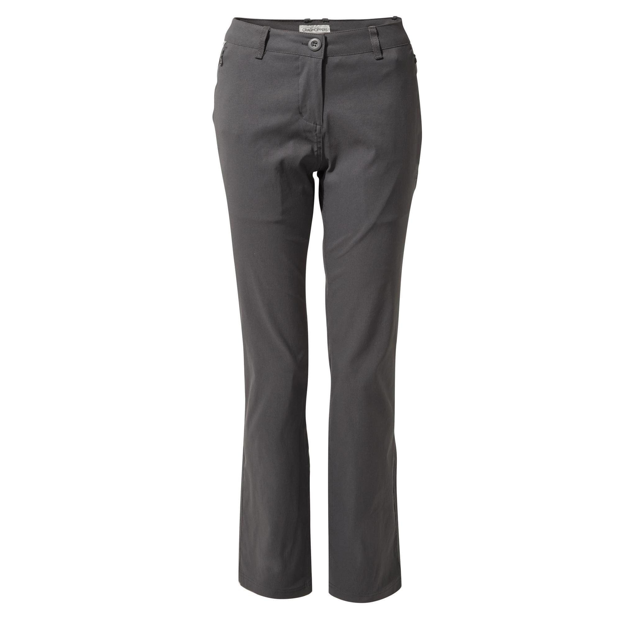 2 x Craghooppers Classic Kiwi Trousers Dark Sand Size 8R