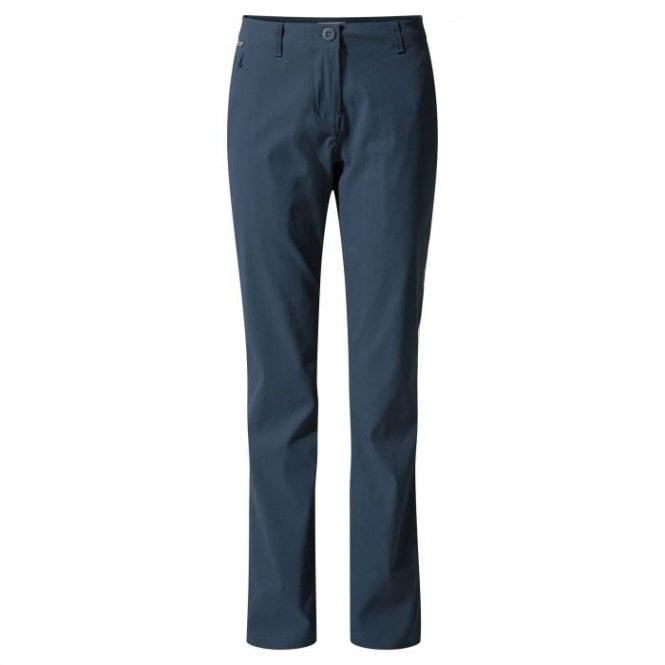 Craghoppers Womens Kiwi Pro Stretch Trousers Loch Blue