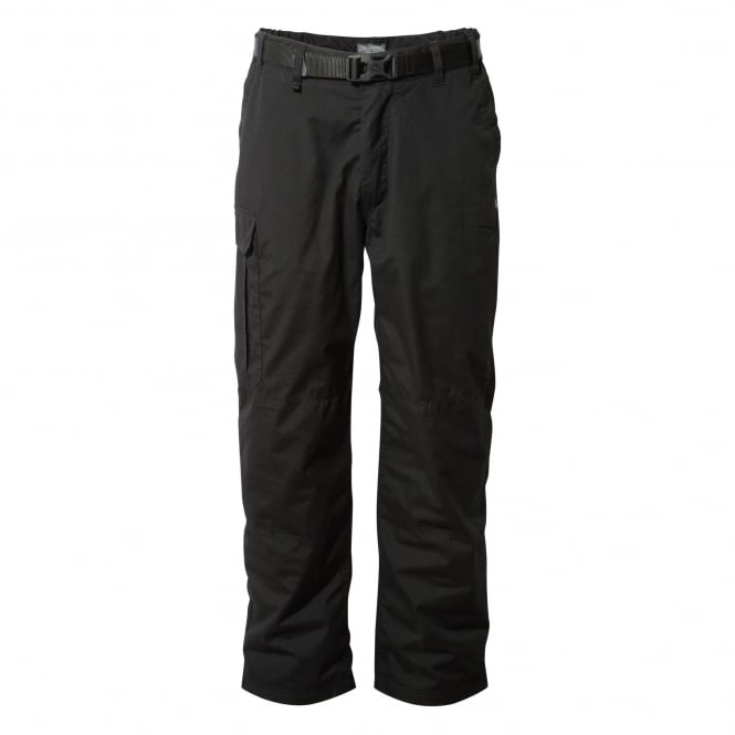 Craghoppers Mens Kiwi Winter Lined Walking Trousers Black