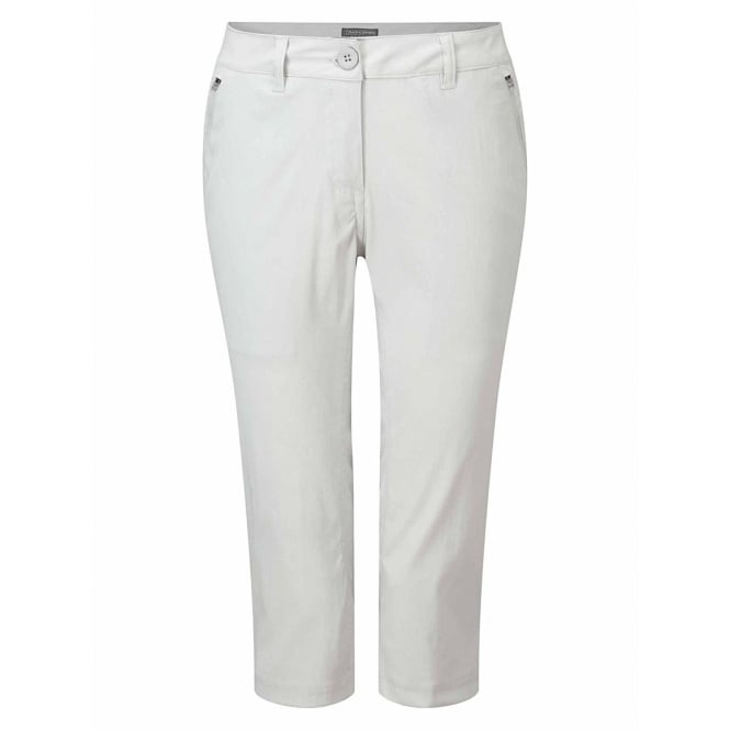 Craghoppers Womens Kiwi Pro Crops - Dove Grey