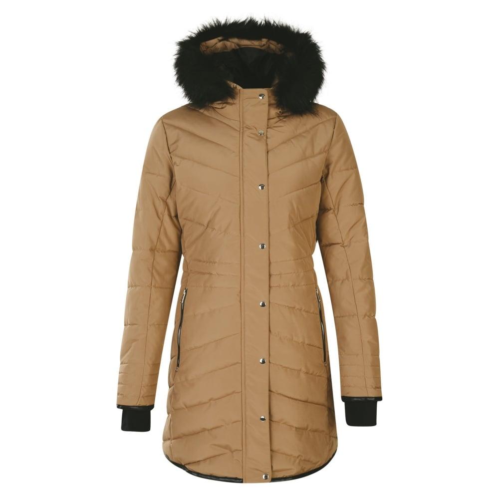 Women s Lately II Winter Weight Parka Jacket Mid Brown e5b483d9fe