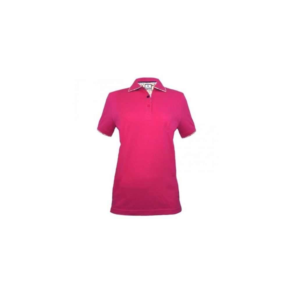 ad8fc7e4 Hazy Blue Bella Womens Polo Shirt - Fuschia - Womens Clothing from  Warwickshire Clothing UK
