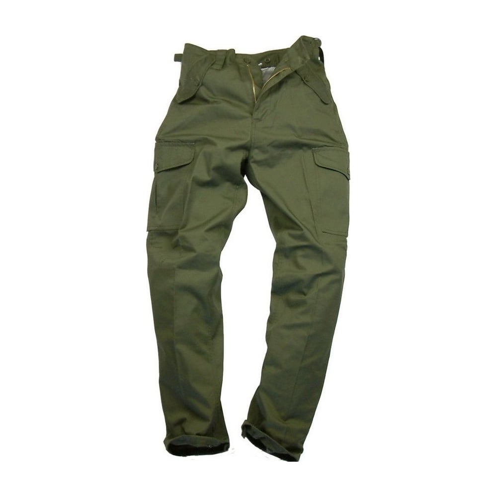 best selection of 2019 50% off new style & luxury Mens Plain Combat Trousers Green