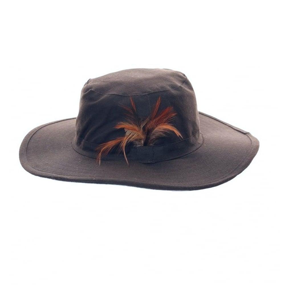 Hazy Blue Wide Brim Unisex Bush Hat Navy - Mens Clothing from ... 5d995e6fde4