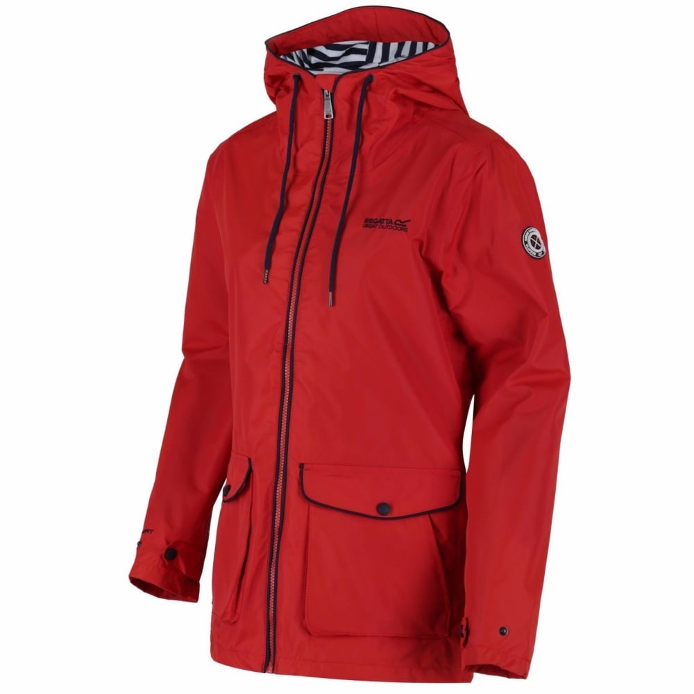 online beautiful and charming outlet for sale Bayeur Womens Waterproof Jacket Molten Red