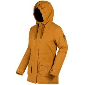 1d8f86439ae33 Beatriz Waterproof Ladies Jacket - Gold Cumin