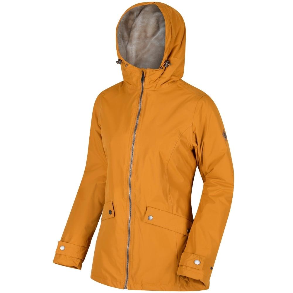 up-to-datestyling best collection sale online Regatta Brienna Ladies Waterproof Jacket Gold Cumin