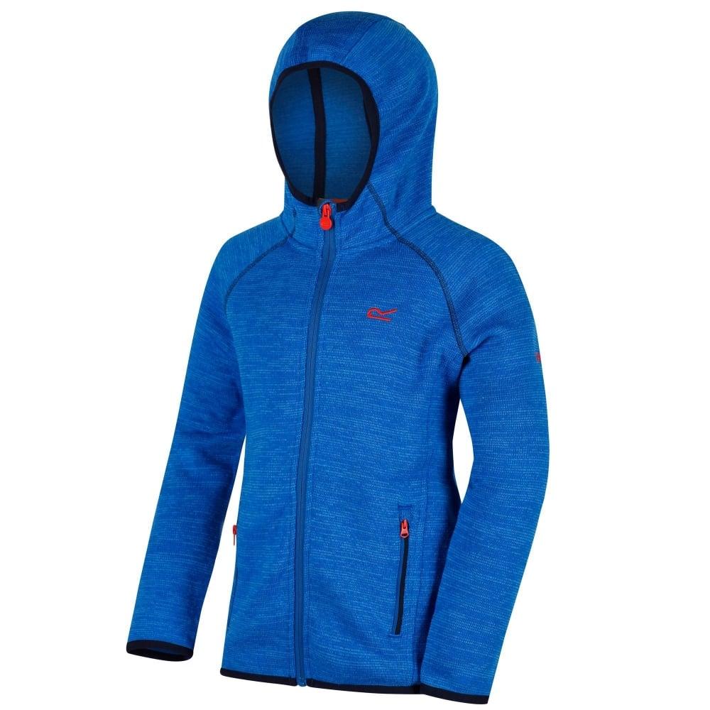 22e943875 Regatta Dissolver Hooded Kids Fleece