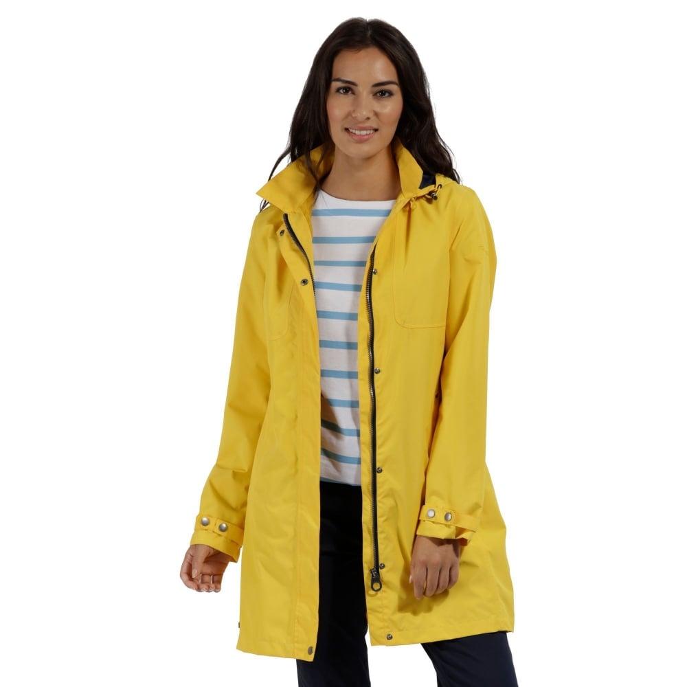 fine craftsmanship low cost fashion style of 2019 Regatta Gracelynn Waterproof Ladies Raincoat Lifeguard Yellow