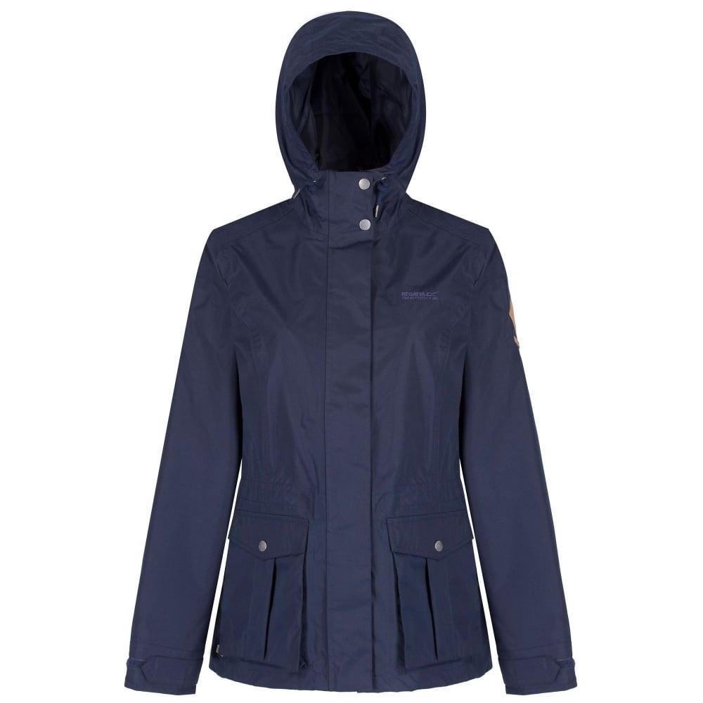 greatvarieties street price color brilliancy Lanelle Womens Lightweight Waterproof Jacket Navy