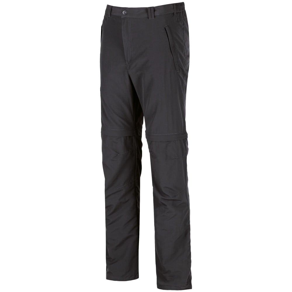 b084107bf5c Regatta Leesville Zip Off Convertible Mens Trousers Ash