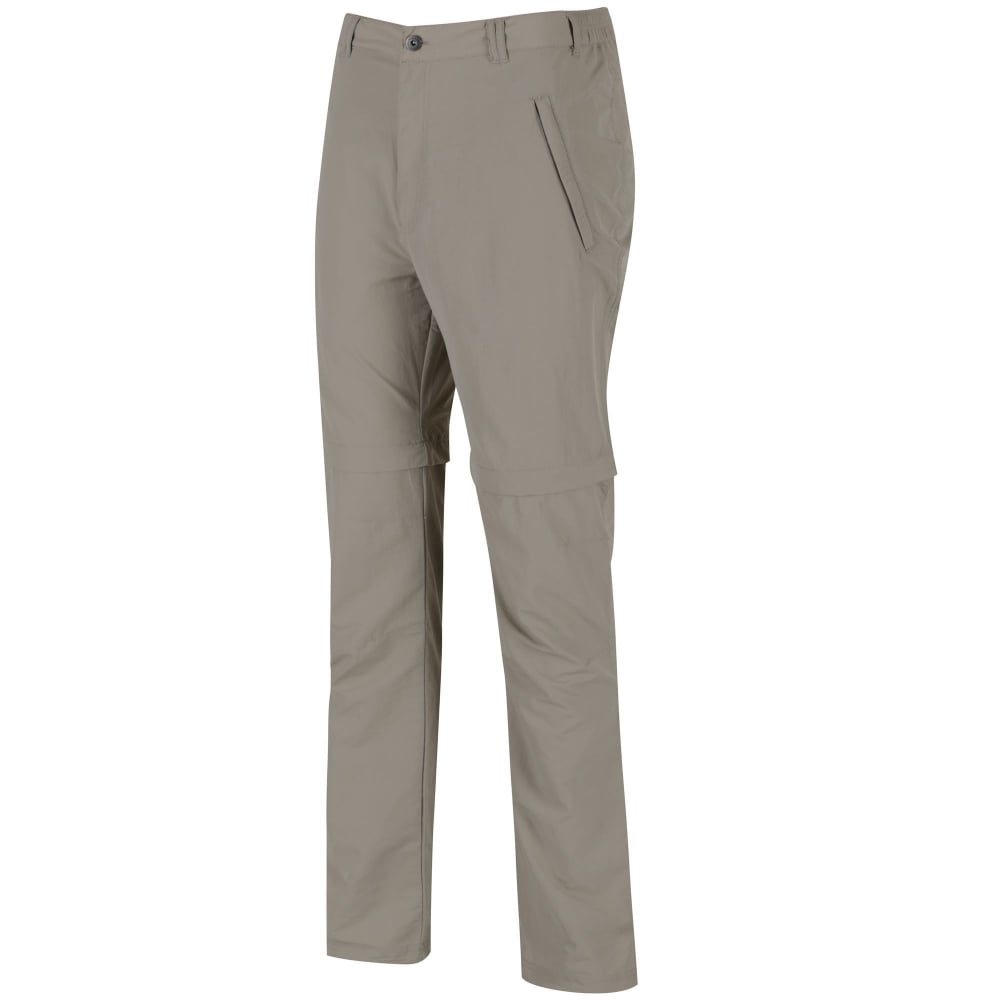 4dc2865f959 Regatta Leesville Zip Off Convertible Mens Trousers Beige