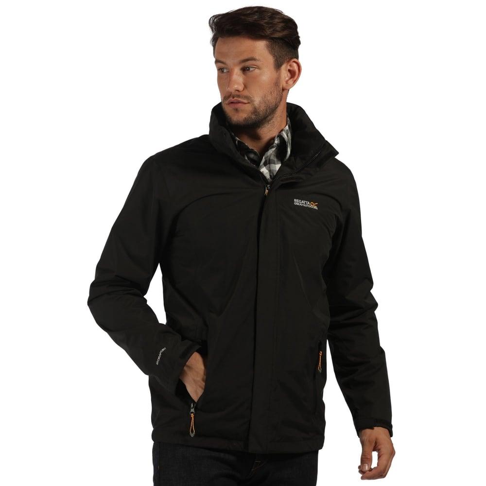 00cba4463 Matt Mens Waterproof Jacket Black
