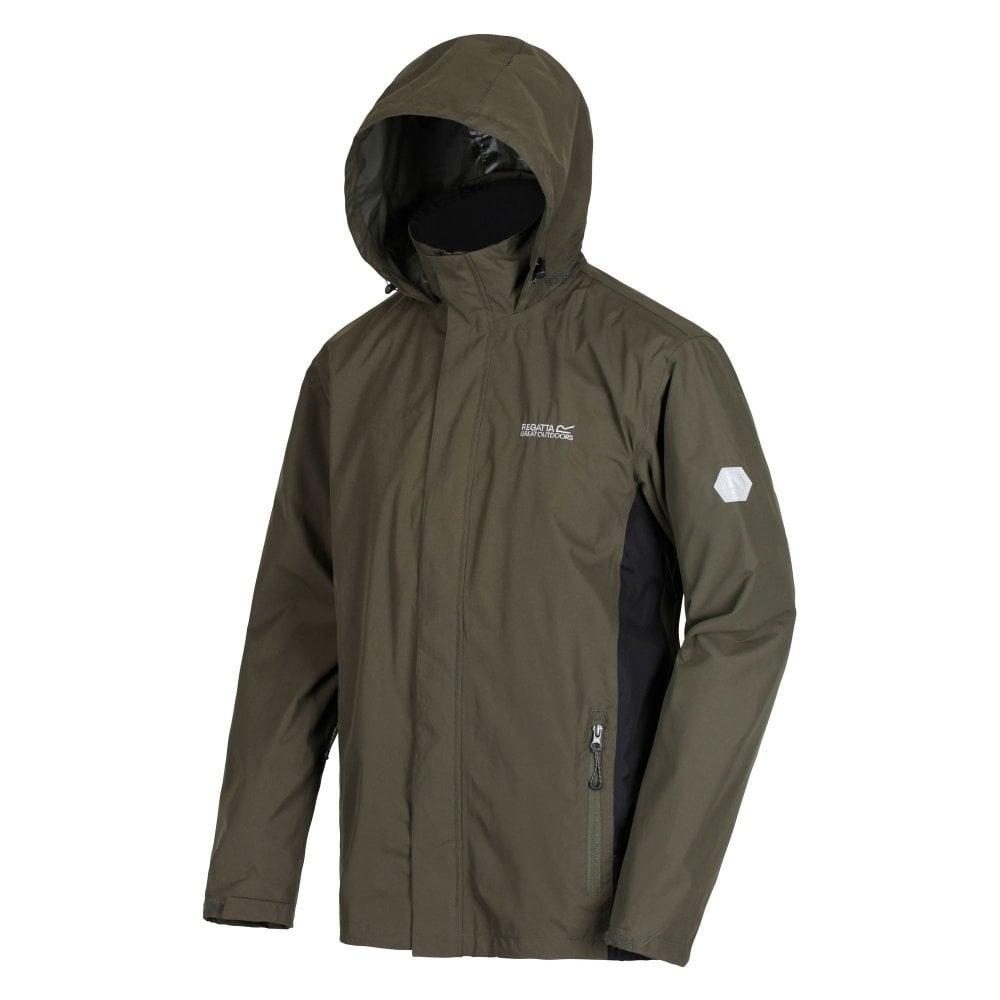 4c46acc70 Matt Mens Waterproof Jacket Dark Khaki