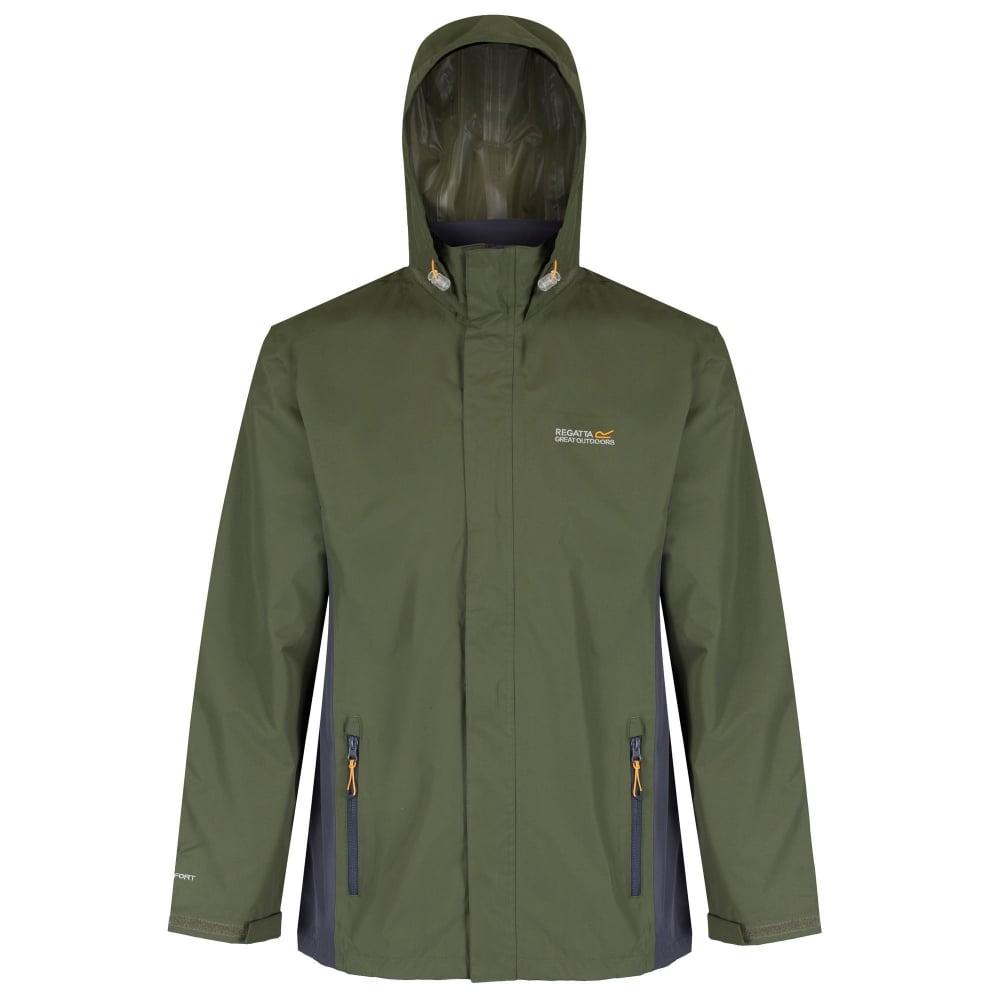 4ea05a718 Matt Mens Waterproof Jacket Olive
