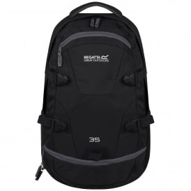 10a9c4b1f8f Paladen 35 Litre Laptop Backpack Rucksack Black/Ebony