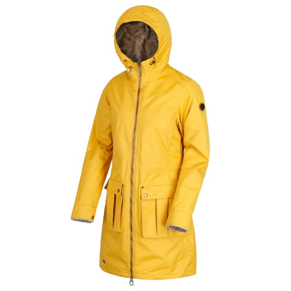 hot-selling official usa cheap sale discount shop Regatta Romina Womens Insulated Waterproof Jacket Mustard Seed