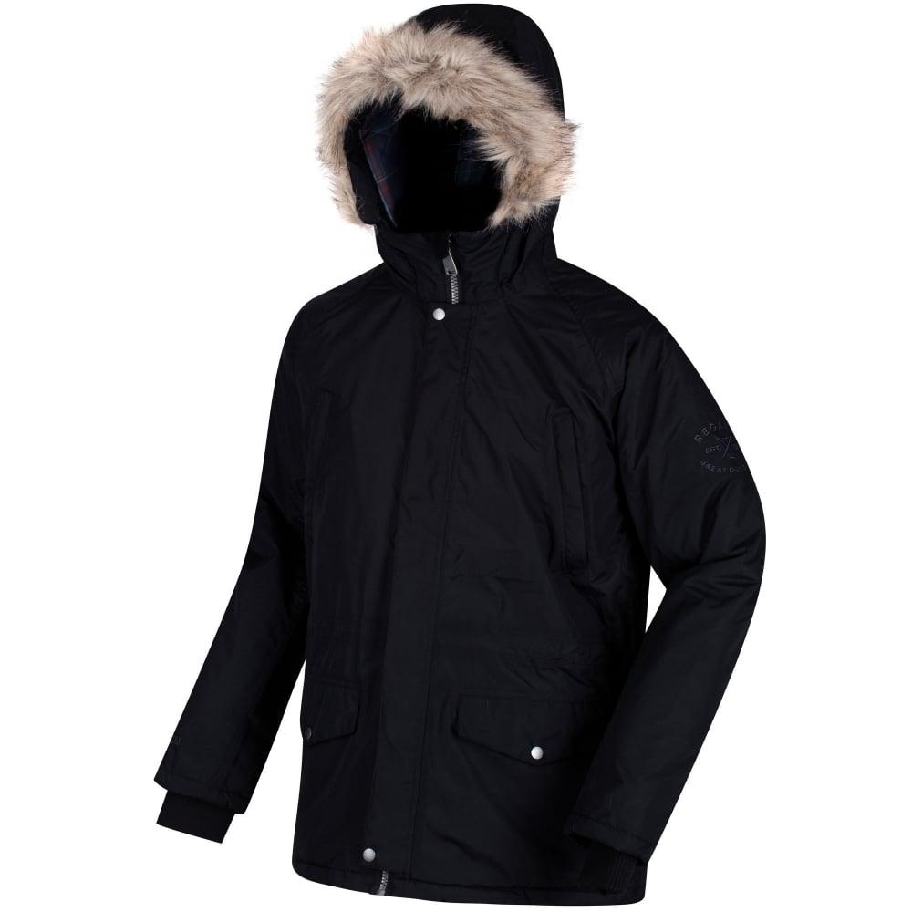 b017499a27785 Regatta Mens Salton Jacket - Black