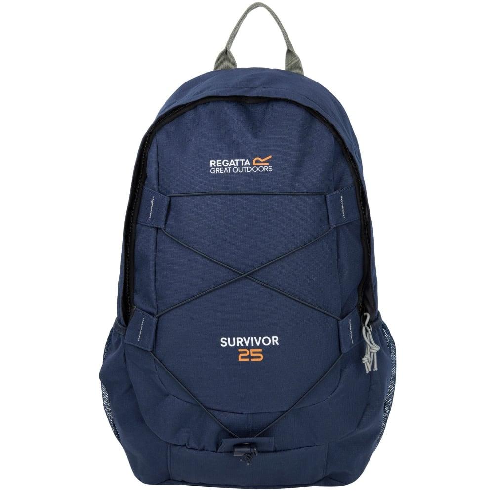 b43fe34395978 Survivor III Travel Backpack Rucksack 25 Litre Navy