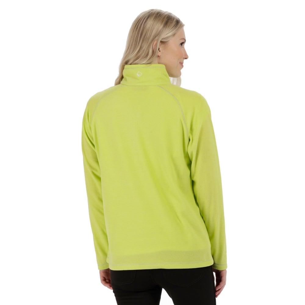 dfe5bdf12 Womens Montes Fleece Top Lime Fizz