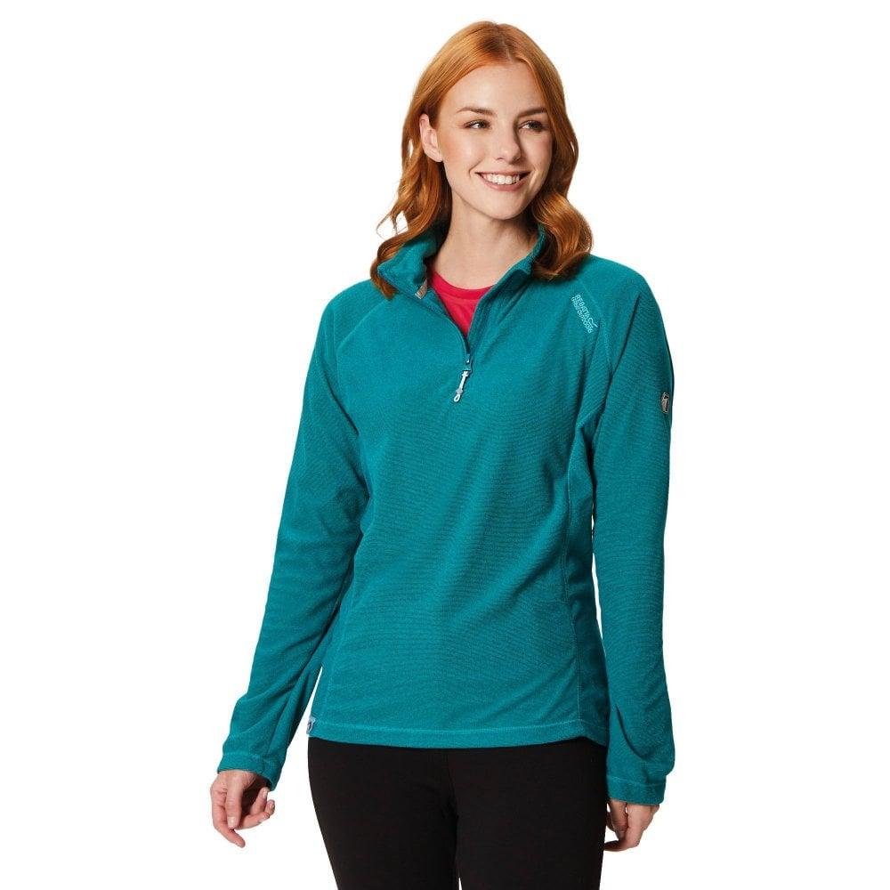 3683075c6 Regatta Womens Montes Half Zip Fleece Pullover Deep Lake