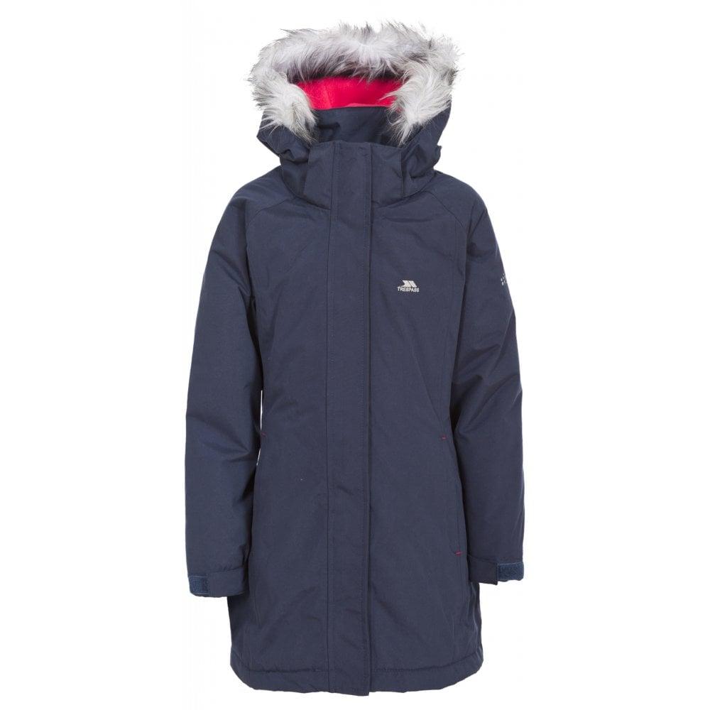 fce1e3744 Trespass Fame Girls Parka Jacket   Warwickshire Clothing