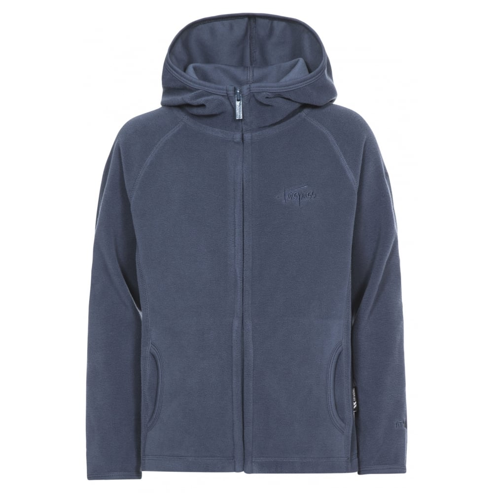 44fd2566a Trespass Melvin Kids Full Zip Fleece Jacket