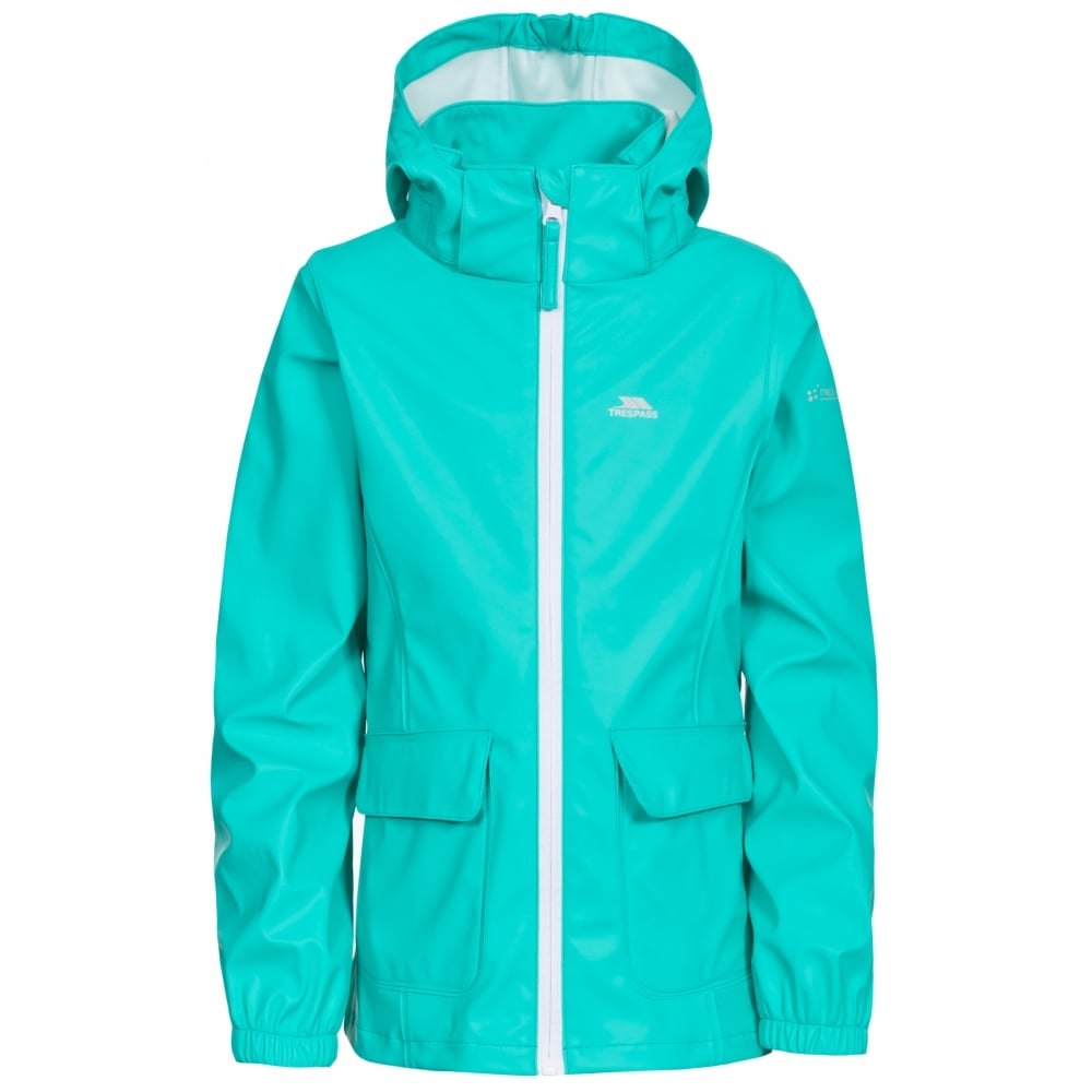 edac2531ce0 Trespass Kids Nella Girls Waterproof Jacket