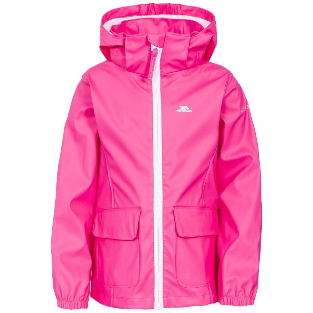 Trespass Nella Girls Kids Waterproof Jacket