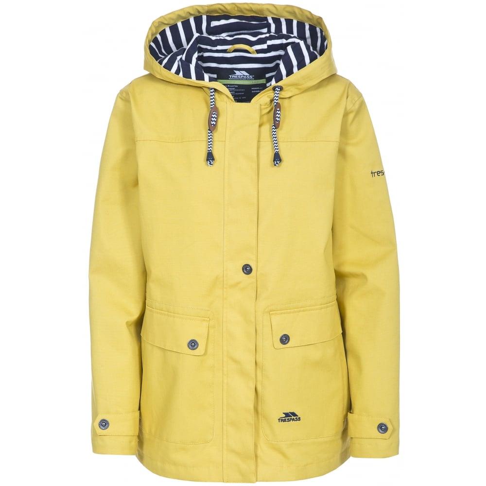 lowest discount picked up online sale Seawater Ladies Waterproof Jacket Gold